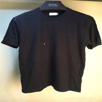 t-shirts porzellangelb großhandel-Designer T-Shirt Männer Streetwear Top Tees Skateboard Neue Ankunft 4size S-XL Brief drucken T-Shirt 5color Mens T-Shirt