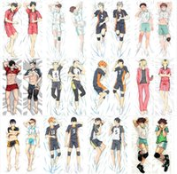 Wholesale anime pillow case hugging resale online - Pillow Case New Haikyuu Japanese Anime Hugging Body Pillow Cover Case Decorative PillowsItem Description