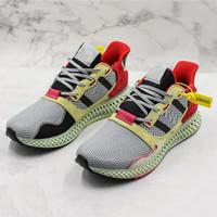 absorbente de zapatos al por mayor-Zapatillas de deporte HOT Runner 2019 Futurecraft ZX4000 4D West Designer Absorbente cómodo Hombres Mujeres Zapatillas deportivas deportivas