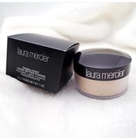 ingrosso scatole minerali-Top Correct Code New Black box nude mineral laura mercier concealer cipria in polvere sciolto 3 colori 29g Face Powder