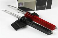 couteaux militaires livraison gratuite achat en gros de-Nouvelle arrivée MICROTECH couteau de poche Tête Simple couteau avant couteau de camping en plein air couteau de survie EDC couteaux