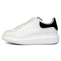 Wholesale girls cotton shoes online - Black White Casual Shoes Lace Up Designer Comfort Pretty Girl Women Casual Leather Shoes Men Womens Extremely Durable Sneakers