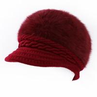 chapéu preto dos pintores venda por atacado-Lã Mulheres Boina Outono Inverno Cap Octagonal Chapéus Elegante Artista Pintor Jornaleiro Bonés Preto Cinza Boina Chapéus