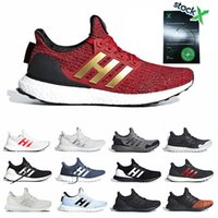 Wholesale night lights for running for sale - Group buy With Stock X Ultra Running Shoes For Men Women Lannister Red Nights Watch Trainers Luxury Designer Sneakers Casual Sports Shoes