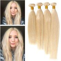 peruvian remy saç paketi toptan satış-# 613 Sarışın Perulu Bakire Insan Saç Paketler Fiyatları Ipeksi Düz Ağartma Sarışın Bakire Remy İnsan Saç Örgüleri Çift Atkılar 4 Adetgrup