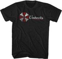 Wholesale umbrella men resale online - Resident Evil Umbrella Corporation Adult T Shirt Great Movie