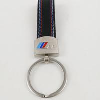 corrente chave de couro do bmw venda por atacado-Fashoin carro de metal + couro chaveiro chaveiro anel chave chaveiro chaveiros para bmw m tech m esporte m3 m5 x1 x3 e46 e39 e60 f30 e90 f10 f30 e36
