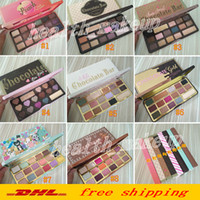 Wholesale 16 eyeshadow for sale - Group buy Hot sweet peach Eye shadow palette Bon Bons Palette Chocolate Gold eyeshadow color white Chocolate bar colors Peaches Eye shadow