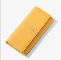 Wholesale card designs new style resale online - Women s wallet new design variety of women s wallet large capacity card package female long clutch bag