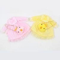 sarı bebek elbisesi toptan satış-Blyth doll Pembe Sarı Simsimi çantası ile elbise 1/6 ICY NEO BJD için giyinmek