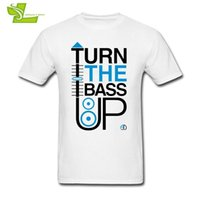 29747426 Turn The Bass Up Crossfader And Speaker T Guys Simple Tee Shirt Cool  Classic Loose T-shirt Men Graphic Dad Top Dj C19041901