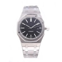 ingrosso vigilanza di affari reloj-CALDO degli uomini di lusso orologi 42mm cinturino in acciaio inossidabile pieno orologio meccanico affari orologio da polso luminoso zaffiro reloj de lujo 5ATM impermeabile