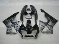 ingrosso zx6r plastic parts-Kit carenatura nero grigio ABS per HONDA CBR900RR 893 96 97 CBR 900RR 1996 1997 CBR 900 RR Bodykit carenature