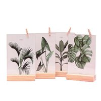 innovative boxen großhandel-Doppelseitiger Ins Style Nordischer Stil Einfacher Fotorahmen Innovative Neuheit Home Decoration Set Table Crafts