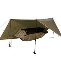 гамаки палатки оптовых-Свободный солдат многофункциональный палатка существование портативный от Земли Москит доказательство анти-износостойкость гамак водонепроницаемый 199ybI1