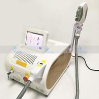 laser de cheveux de peau achat en gros de-Épilation permanente multifonctionnelle de laser de chargement initial rajeunissement de peau de traitement d'acné de traitement de l'acné de rf E lumière OPT SHR machine de station thermale de beauté