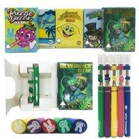 Wholesale battery press for sale - Group buy Moonrock Clear E cigarette Kits Vape Cartridges mah Battery Ceramic Coil ml ml Press on Tip Vaporizer Pen Carts Starter Kit ecig