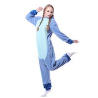 vaca halloween trajes adulto venda por atacado-Animal Onesie Adulto Cosplay Onepiece Pijamas Pijamas de Halloween Unisex Adulto Pijama De Pelúcia Onesie One Piece Cow Animal Costume