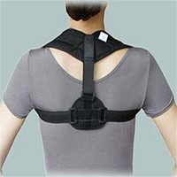 Wholesale Upper Back Posture Corrector Clavicle Support Belt Back Slouching Corrective Posture Correction Spine Braces Supports Health NEW