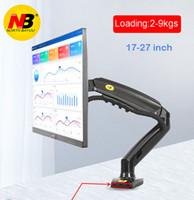 soporte de resorte al por mayor-2019 Nueva NB + F80 2XUSB3.0 escritorio Gas Spring 17-27