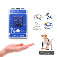Wholesale spo2 nibp for sale - Group buy Find Similar Newest Vet Veterinary Patient Monitor ICU Vital Signs parameter blood pressure HR Spo2 NIBP ECG RESP Dog Cat
