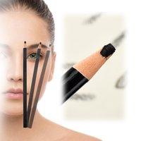 kalıcı makyaj kaş kalemi toptan satış-12 Adet Kaş Kalemi Yarı-kalıcı Makyaj Kalem Kaş Dövme Hattı Tasarım Konumlandırma Kaş Su Geçirmez Dövme Araçları