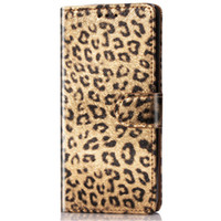 Wholesale iphone flip leopard online - Sexy leopard print Leather TPU Case Wallet Flip stand Cover Carcasas With Card Slot Mobile Phone Bags For iPhone X XS Xs max For Samsung