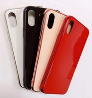 ingrosso iphone più amore mei-vetro di lusso di Apple elettrolitico casse del telefono temprato Back Cover Moda Protector per iPhone 11 pro Max X Xs Xs XR Max 6s 7 7p 8 più