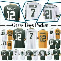 22ec6b4d00f Wholesale aaron rodgers jersey xxl for sale - Green Bays jersey Packer  Aaron Rodgers Brett Hundley