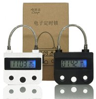 Wholesale padlock sex toy for sale - Digital Timer Switch USB Rechargeable Time Switch Lock Padlock For BDSM Accessories Adult Sex Toys For Couple C18112701
