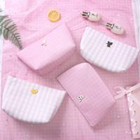 Wholesale magic zipper resale online - Anime Sailor Moon Printed Cartoon Card Captor Sakura Kero Magic Stick Girls Fashion Waterproof Cosmetic Bag Make Up Storage Bag