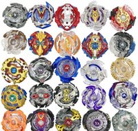 Wholesale 24 Designs Explosive gyroscope Clash Metal D Beyblades Beyblade Burst Spinning Tops Boys Kids Toys Beyblade Burst Party Favor Gyro toy