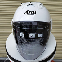kohlefaser motorrad halbe helme großhandel-Sports White Helmets Motorradhelm für Damen Leichter Integral geformter Mountain Road Half Helm