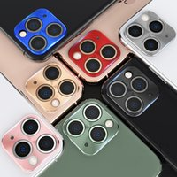Wholesale cell phones metal cases for sale – best New Cell Phone Camera Protector Ring Cover For Iphone Ultra Thin Lens Cap For Iphone Pro Max