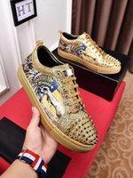 pp sneakers بالجملة-العلامة التجارية مصمم الأزياء الفاخرة أحذية الذهب المنخفضة قطع الجلود شقة المصممين الرجال المرأة عارضة أحذية 38-44 هكت PP 18