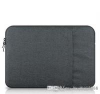 Wholesale 13 inch tablet sleeves resale online - Happy Brand Waterproof Crushproof Notebook Computer Laptop Bag Laptop Sleeve Case Cover For inch Laptop Tablet
