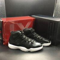 büyük fırsatlar toptan satış-Big Deal Basketbol Ayakkabıları 11 11 s Erkek Siyah Tasarımcı Ayakkabı Moda Sokak Açık Spor Sneakers Yüksek Kalite