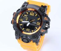 erkek çocuklar için yeni saatler toptan satış-Yeni varış relogio GWG erkek spor saatler, LED chronograph kol saati, askeri İzle, dijital İzle, erkekler için iyi hediye erkek ...