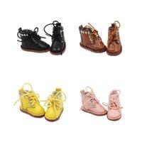 eisige puppen großhandel-Für 1/6 Blyth Puppe Licca Body Icy Jecci Five Schuhe Stiefel Geschenk Spielzeug 3cm MX190801