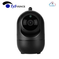 Wholesale wireless ip auto camera for sale - 2MP HD P Cloud Wireless IP Camera Intelligent Auto Tracking Of Human Home Security Surveillance MP CCTV Network Wifi Camera