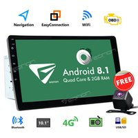 gps bluetooth 2din großhandel-US CAM + Android 8.1 10