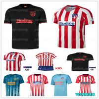 nouveaux maillots de marque achat en gros de-19-20 Atletico Jersey madrid Nouveau Football Soccer GRIEZMANN SAUL CORREA KOKE Enfants Femmes Hommes Football maillot