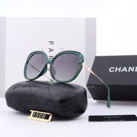 Wholesale vintage colorful resin resale online - Oversize Colorful Transparent Frame Women Sunglasse Luxury Qualtiy Fashion Sunglasses Vintage Glasses High Quality goggles With Box dbt1306