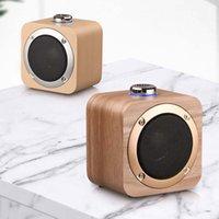 neue mini-computer großhandel-2019 neue Holz Bluetooth Wireless Lautsprecher Woden Lautsprecher Surround Mini Holz Wireless Music Player Lautsprecher für Telefon Computer