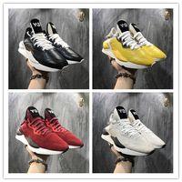 venta de zapatos y3 al por mayor-Venta superior 2019 Alta calidad Y3 Kaiwa Amarillo Chunky Yohji Zapatos Nuevos Hombres de la moda Núcleo Negro Blanco Rojo Zapatillas de deporte casuales Entrenadores 22