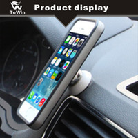 Wholesale Universal Car Magnet Mobile Phone Holder Rotating Stand Cellphone Stent Auto Center Console Bracket Vehicle Home Office Magnetic Stent