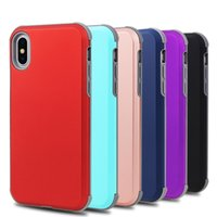 Wholesale iphone 4 cases online - Hybrid Slim In1 Phone Cases Shockproof cover For iPhone Metro Samsung Galaxy Note J3 J7 Moto E5 Stylo K10 MetroPCS