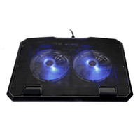 Wholesale usb port cooling fan for sale - Group buy 6 Level Lifting Multi Fan Notebook Cooler Laptop Cooling Radiator With USB Ports Anti skid Adjustment