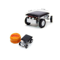 Wholesale insects robots for sale - Group buy DIY Mini Solar Car Powered Robot Solar Toy Vehicle Educational Solar Power Kits Novelty Grasshopper Cockroach Gag Toys Insect for Children