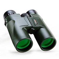 okular-teleskop hd großhandel-Military HD 10x42 Fernglas Professionelle Jagd Teleskop Zoom Hohe Qualität Vision Keine Infrarot Okular Armee Grün